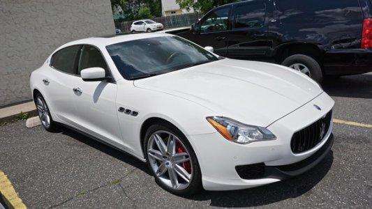 Maserati Quattroporte Limosine in NJ