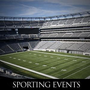 NJ Sporting Event Limousine Services DG Limousines
