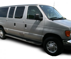 NJ Limo E350 Airport Shuttle Van