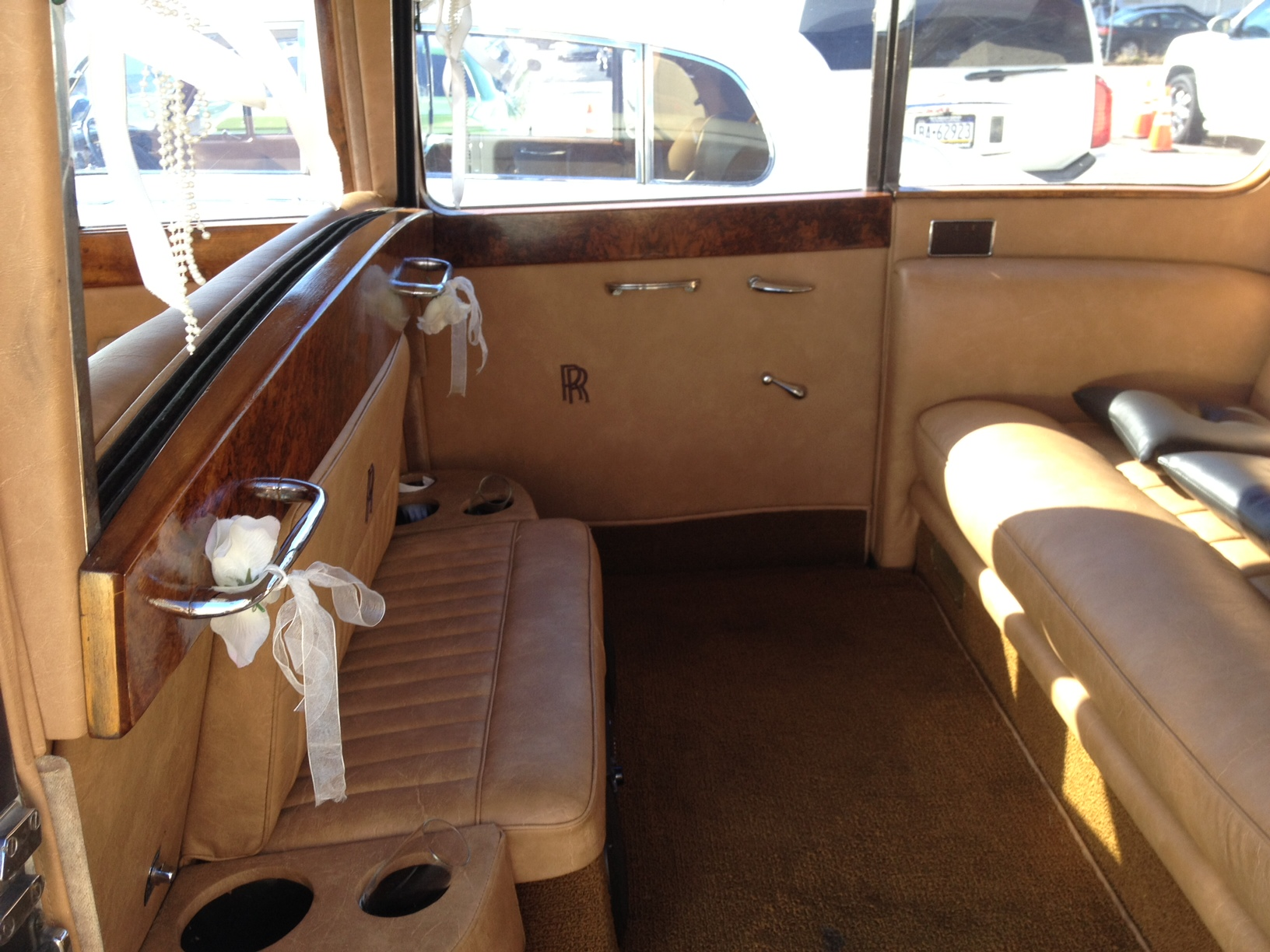 1957 Rolls Royce Nj Wedding Limousine