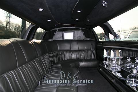 Lincoln Continental Stretch Limo NJ - White