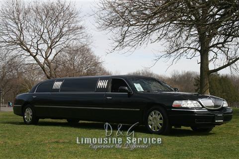 Lincoln Continental Stretch Limo NJ - Black