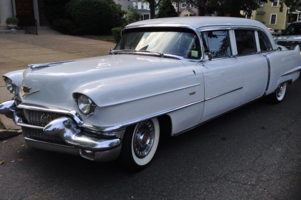 1956 cadillac fleetwood nj wedding limousine for 1956 cadillac 4 door sedan