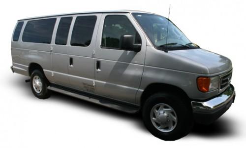NJ Limo E350 Airport Shuttle Van