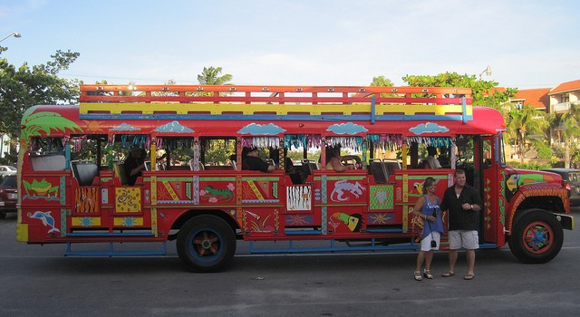 Colorful Party Bus Inspiration
