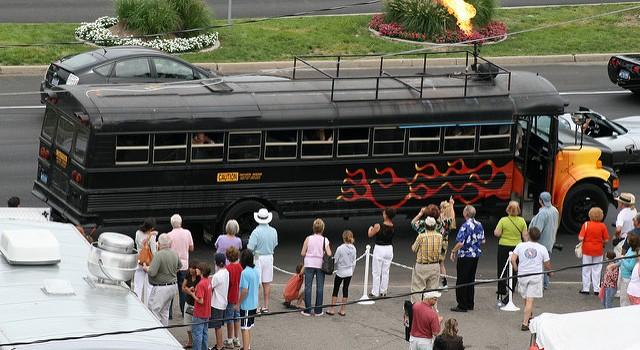 Firestarter Party Bus