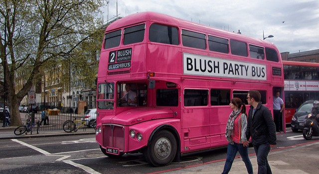 Pink Party Bus