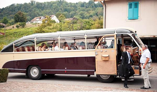 Vintage Party Bus