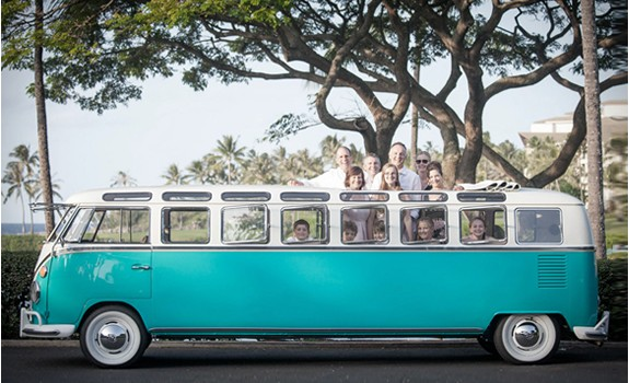 Volkswagen Hippie Party Bus